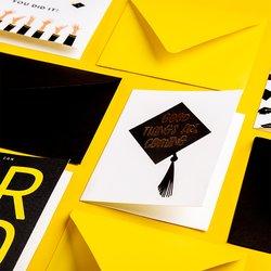 Tarjeta de Felicitación con foil