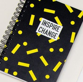 Cuaderno Inspire Change. Velvet