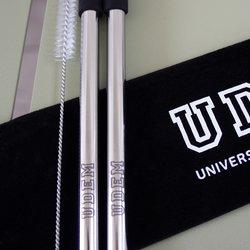Popotes acero inoxidable UDEM College